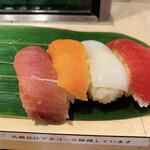 寿司 魚がし日本一 - まぐろ、サーモン、いか、など