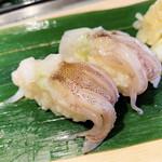 寿司 魚がし日本一 - 生げそ(LINEクーポンでサービス)