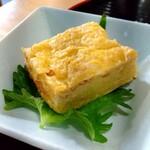 蕎麦割烹 黒帯 - 出汁巻玉子