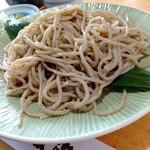 蕎麦割烹 黒帯 - 二八蕎麦(北海道鹿追産)
