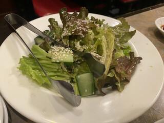 貴味苑 - サラダ