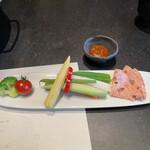 飛騨牛一頭家 馬喰一代 - 生野菜サラダ