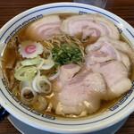 秋刀鮪だし 宣久 - 料理写真:チャーシューもり中華1070円