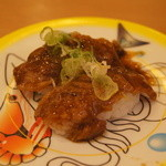 かっぱ寿司 - 牛カルビ