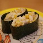 かっぱ寿司 - コーン
