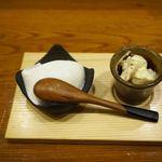 はまざる - 豆腐。自家製のようです。