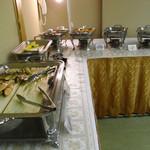 白金温泉ホテル - 料理写真:朝食ビュッフェ