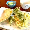 おっこと亭 - 料理写真:天ぷら三種盛り