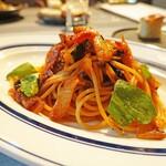 152243498 - オフィアグリル野菜のトマトスパゲティオルトラーナ