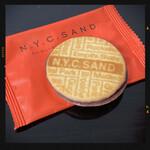 ニューヨークシティサンド - N.Y.サニーオレンジキャラメルサンド
