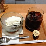 152247016 - コーヒーゼリー+コーヒー 全景