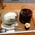 菜の花 ムーンカフェ - コーヒーゼリー+コーヒー 全景