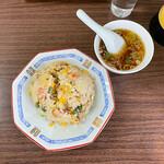 152249323 - チャーハン¥800 (スープ付き)