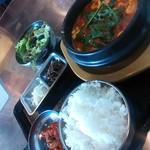 15225314 - 元祖純豆腐チゲ定食