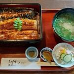 ひろや - 料理写真:うなぎ(浜名湖産炭焼き