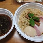 らぁ麺 ふじ松 - つけ麺 味玉