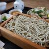 升風庵 - 料理写真:天草大王のたたきとそばのセット(1450円)