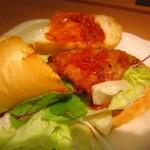 ドトールコーヒーショップ - ミラノサンド・グリルチキンとトマトのソース