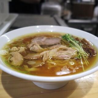 手打 親鶏中華そば 綾川 - 料理写真: