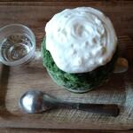 ARCH SHORENJI - 【抹茶とレモン氷:上から】 サイズは「中」〜「やや大」。 白湯付き。