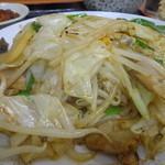 源ちゃんラーメン - 野菜炒め