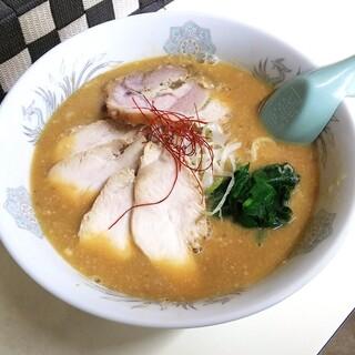 らぁ麺 とりぷる - 料理写真:鶏プレッソ(ドロうましょうゆ味) 780円