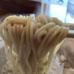 豚骨中華そば がんたれ - 豚骨中華そば(細麺リフト)