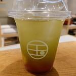 152278641 - 令和2年9月 日本茶フルーツティー煎茶ICE 500円