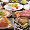佳紋 - 料理写真:あわびプラン 人気№1のあわびとステーキに飲み放題がセット!お肉がサーロインの場合+2000円