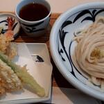 讃岐うどん みやの家 - 料理写真:春天ぷらぶっかけ(冷)