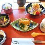 山の茶屋 - プランの蕎麦御前    (1800円相当)