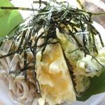 山の茶屋 - 冷たいお蕎麦に天ぷら