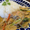 いーとん - 料理写真:春野菜のグリーンカレー