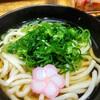 驛麺家 - 料理写真:かけうどん(330円)