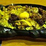 ステーキレストラン 味蕾館 - バラ焼き定食
