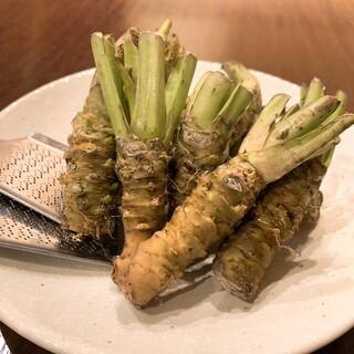 醤油・生山葵