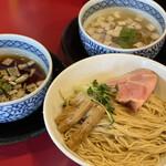 らー麺 つけ麺 おぐり - 昆布水つけめん(スープW)