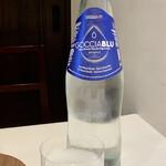 PRIMO - ゴッチャブルーはイタリアのミネラルウォーター 中鉱水のオリゴミネラルウォーターは、軟水に慣れた日本人にも飲みやすいそうですが、確かに全く違和感がありませんでした。