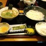 15231281 - 肉つけ麺定食