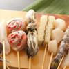 Oosakakushikatsutentekomai - 料理写真:串食材