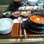 鳳雛 チムタク - スンドゥブチゲ定食