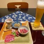 152320411 - 赤身肉のステーキコースの前菜