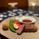 152320419 - 赤身肉のステーキコース