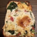 イトキト - ほうれん草のピザ
