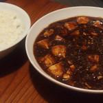 バー ハヤシ - 麻婆豆腐