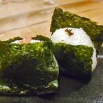 天ぷら処 こさか - おにぎり(鮭&自家製おかか)