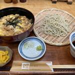 手打蕎麦ぐらの - 親子丼セット(せいろ小) 1,320円