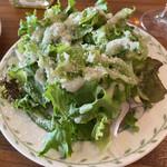 トラットリアカンパニオ - サラダのアップです