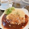 nagicafe+ - 料理写真:ふわトロオムライス、ブレンドコーヒー(Hot)
