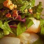 シェ ドゥドゥ - 前菜 ホタテのサラダ